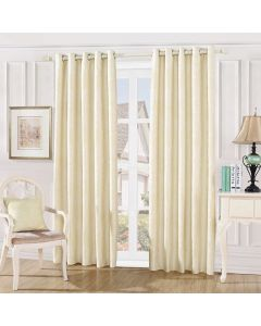 Damask Curtains - cream