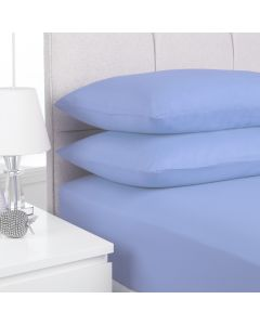 Hometex Fitted Sheet - blue