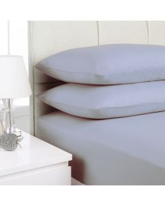 Hometex Fitted Sheet - silver