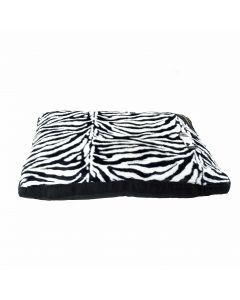 Zebra Fur Dog Bed