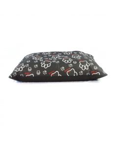 Paws Black Dog Bed