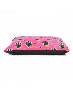 Paws Pink Dog Bed