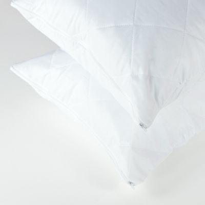 Zipped Pillow Protector (4) - Quilted