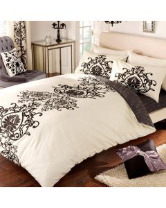 Jewel Black Duvet Cover