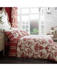 Richmond Red Duvet Cover