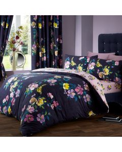 Rosehip Purple Duvet Cover