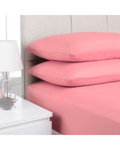 Hometex Fitted Sheet - pink