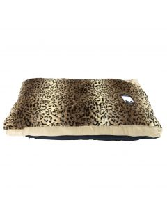 Cheetah Fur Dog Bed
