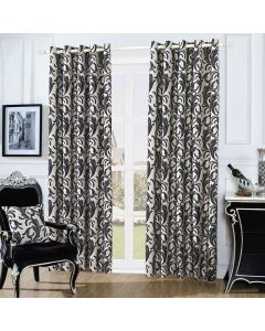 Swirl Curtains - cream