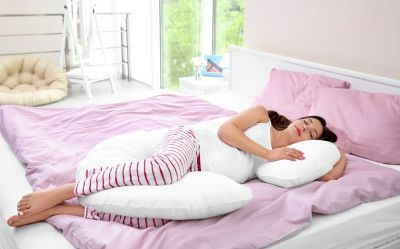 C Shaped Support Pillow